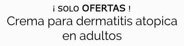 Crema para dermatitis atopica en adultos