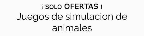 Juegos de simulacion de animales